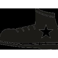 Ботинок со звездой