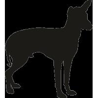 Силуэт собаки 2