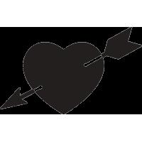 Сердце пробитое стрелой