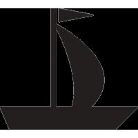 Кораблик с парусом