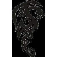 Татуировка Дракон 5