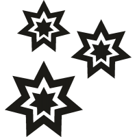 Звезды от салюта