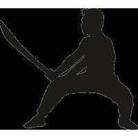 Прием с мечом 3
