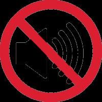 Знак Не слушать громкую Музыку 1