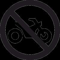 Знак Въезд на Мотоцикле Запрещен 2