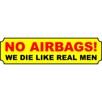 No airbags