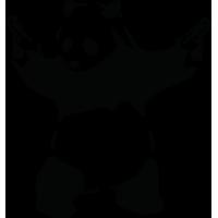 Панда с пистолетами