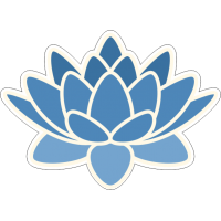Голубой цветок лотоса