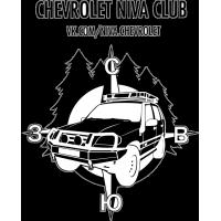 наклейка chevrolet клуб