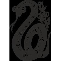 Знак китайского зодиака Змея