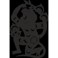 Знак китайского зодиака Обезьяна