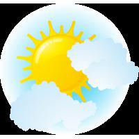 Солнце за тучами