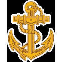 Якорь с эмблемы Военно-Морской Пехоты России