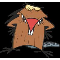 Деггет Дуфус c мультфильма Крутые Бобры - Angry Beavers