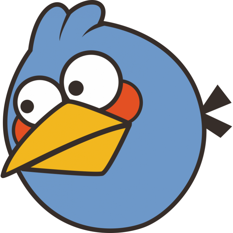 Angry bird green bird