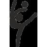 Силуэт гимнастки