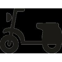 Традиционный скутер