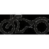 Мотоцикл кастомный чоппер