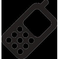 Мобильный телефон с антенной