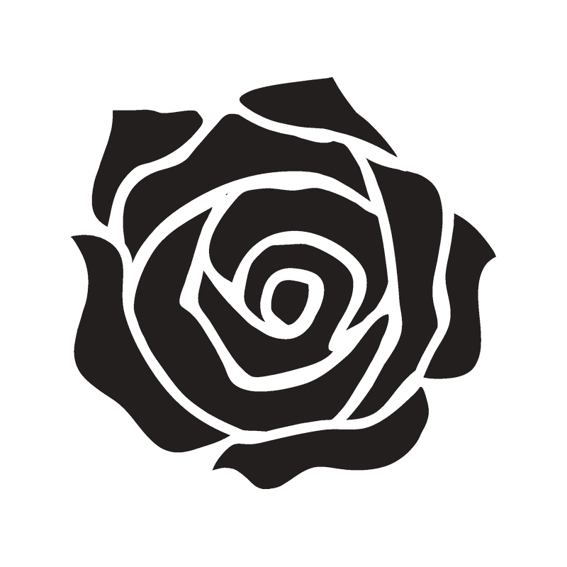 площади черно белые картинки для распечатки роза это