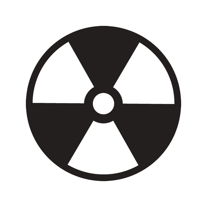 Символы радиации картинки пользоваться вилкой