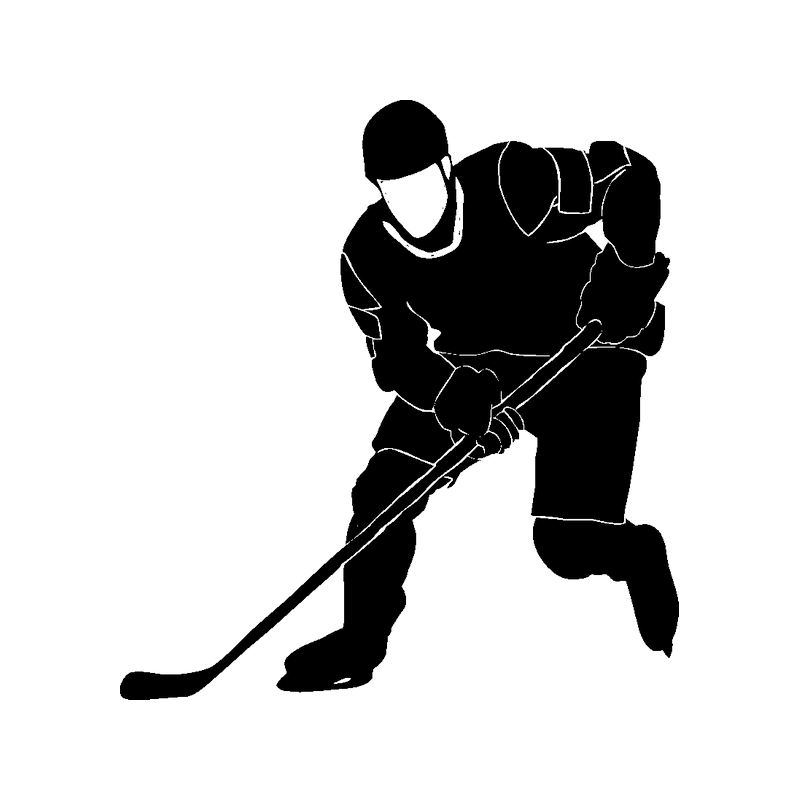 Рисунок хоккеиста картинки