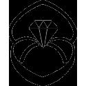 Кольцо с бриллиантом в коробочке
