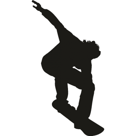 Парень катающийся на скейте