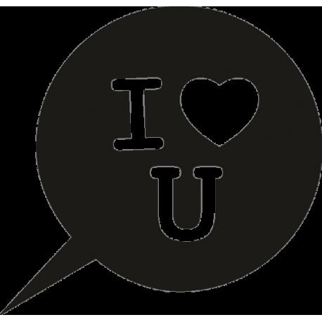 Значок Я люблю тебя