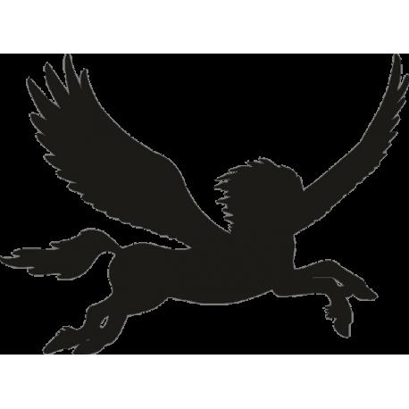 Летающая лошадь с крыльями