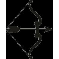 Боевой лук со стрелой