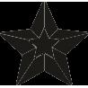 Медаль в виде звезды