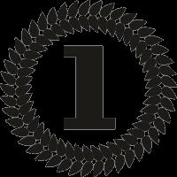 Медаль для первого места
