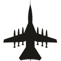 Истребитель с ракетами