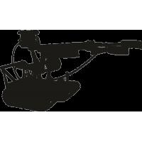 Передвижной пулемет