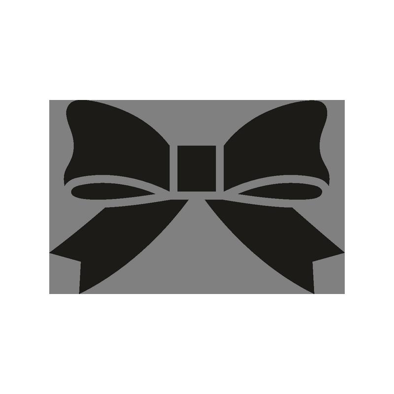 Бантик черно белый картинка