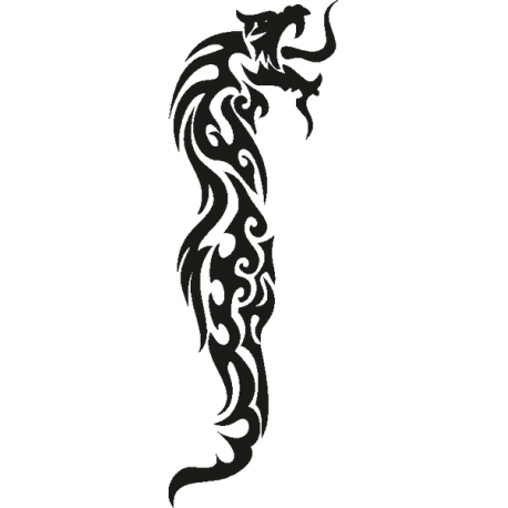 Татуировка Дракон 4