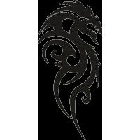 Татуировка Дракон 9