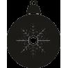 Новогодняя игрушка со снежинкой