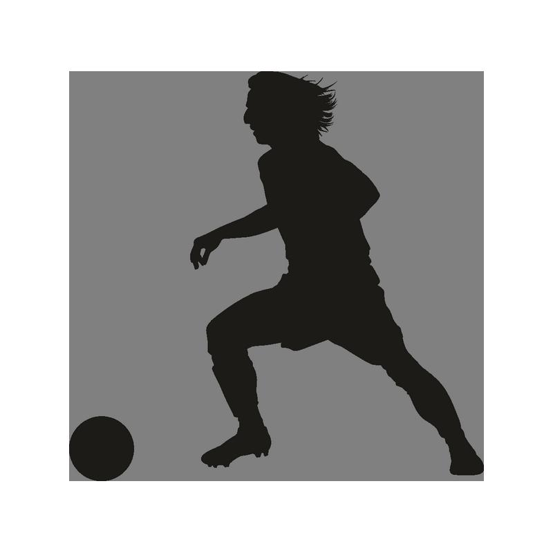 Утро, картинка футболиста с мячом
