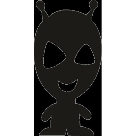 Инопланетянин маленького роста с большой головой