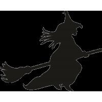 Ведьма на метле 8
