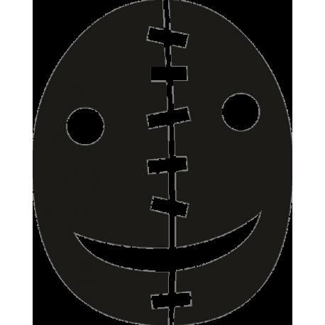 Зашитая маска на Хэллоуин