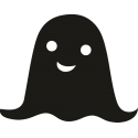 Образ привидения на Хэллоуин