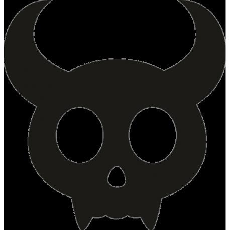 Маска быка на Хэллоуин