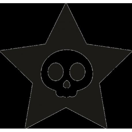 Череп в звезде