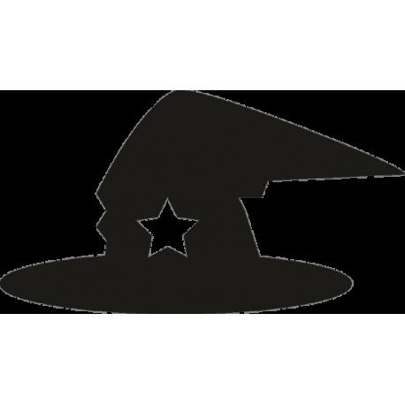 Шляпа колдуньи со звездой