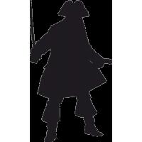 Пират с мечом в руке 4