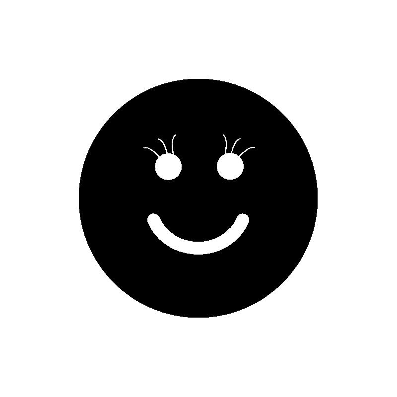 Фото смайлики с ресницами
