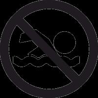 Знак Плавать Запрещено 2